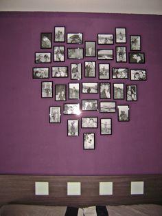 Yani comparte su composición de marcos de fotos en forma de corazón : x4duros.com