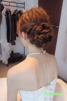 柔らかルーズな3スタイルのhappy wedding day♪ |大人可愛いブライダルヘアメイク『tiamo』の結婚カタログ