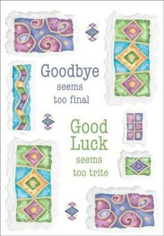 27 Best Farewell Cards Images Cards Goodbye Cards Good