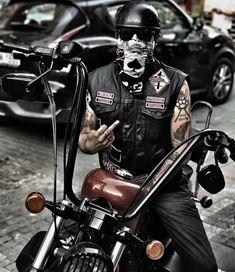 Harley Dyna, Harley Bikes, Harley Davidson Bikes, Biker Clubs, Motorcycle Clubs, Harley Tattoos, Ape Hangers, Biker Boys, Chopper Bike