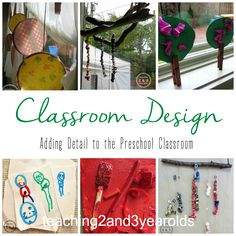 Classroom Design: Adding Personal Touches - Teaching 2 and 3 year olds