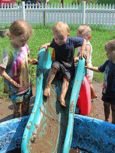 Growing Inch By Inch: International Mud Day 2012
