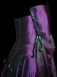 Rossetti Costumes and Bridal Gowns - Pre-Raphaelite / Medieval /William Morris wedding corset