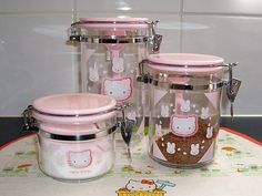 Hello Kitty Canisters