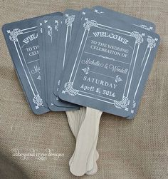 Hey, I found this really awesome Etsy listing at https://www.etsy.com/listing/87906419/chalkboard-wedding-fans