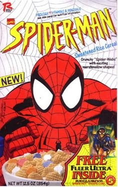 Spider-Man | 26 Cereals From The '90s You'll Never Be Able To EatAgain