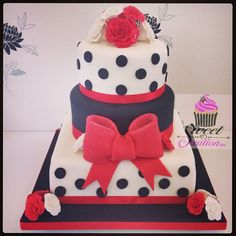 50's themed cakes | 50′s Theme Wedding Cake