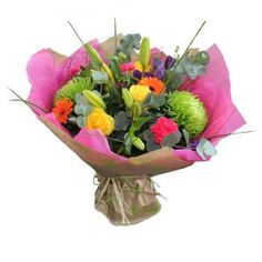 Shamrock, Roses, Gerbera
