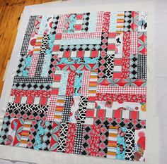 Old Red Barn Co.: Quilt Along Week 5 Free Motion Quilting Tutorial -- Stippling