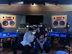 American rapper Logic meets BTS' rapper Suga at a recording studio and we wonder what's cooking : Bollywood News - Bollywood Hungama Jimin, Jhope, Namjoon, Taehyung, Yoongi Bts, Hoseok, Daegu, Rapper Logic, Boy Scouts