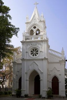 Christ the King Church, built by the Spaniards in 1917, Gulangyu Island, China