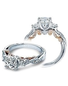 White gold round engagement ring | Since1910 | http://trib.al/yKh8UTC