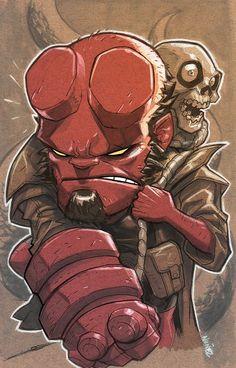 Hellboy by Eddie Nunez