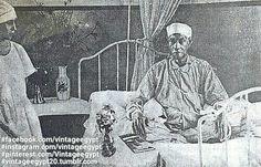 Saad Zaghlul Basha in his death sick 1927 سعد زغلول أثناء مرضة الاخير 1927