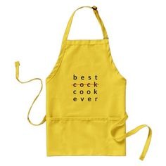 Best Cock Ever Apron. Naughty gifts for your hubby this Husband Appreciation Day.