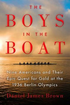 September 2015 - This is the remarkable story of the University of Washington's 1936 eight-oar crew and their epic quest for an Olympic gold medal.  They defeated elite rivals first from eastern and British universities and finally the German crew rowing for Adolf Hitler in the Olympic games in Berlin, 1936.  This is the One Maryland One Book selection for 2015!