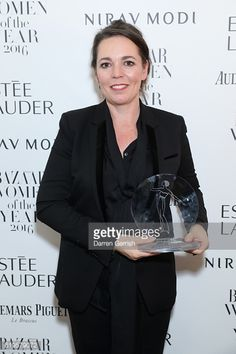 Olivia Colman attends Audemars Piguet Sponsor Of The Harper's Bazarre Women Of The Year Awards 2016 at Claridges Hotel on October 31, 2016 in London, England. (Photo by Darren Gerrish/Darren Gerrish/WireImage)