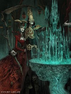 World Building: An interview with illustrator Sean Andrew Murray | Court of the Dead