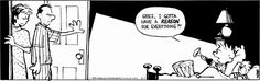Calvin and Hobbes for August 07, 2014