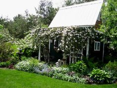 Garden House in Bloom
