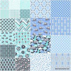 Pastel Pop - It's a Boy Thing Jelly Roll - Michael Miller Fabrics - Michael Miller