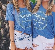Pi Beta Phi off the shoulder shirts #piphi #pibetaphi