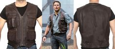 "Now Interesting News for Chris Pratt Fans. ""Dewuchi"" Introduce Chris Pratt Jurassic World Brown Leather Vest. This Fashionable Vest Worn by Chris Pratt as Owen in Movie Jurassic World. Available at Our Online Store. This Offer Now!!  #chrispratt #jurassicworld #mencollection #fashionableboys #hot #movies #musician #superheroclothing #photography #moment #Leatherjacket #jacket #lovers #smart #collection #halloweensale #newarrival #sophistication #fashionblog #fashionista #onlineshop…"