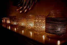 Vintage Windlichter & Teelichter mieten| weddstyle