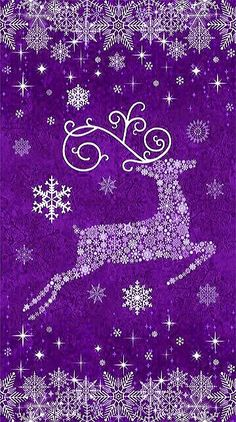 By Artist Unknown. Merry Christmas Pictures, Merry Christmas To All, Christmas Art, Christmas Greetings, Purple Halloween, Purple Christmas, Christmas Colors, Christmas Tree Decorations, Christmas Phone Wallpaper