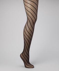 Stylish stripes take these tights from timeless to trendy. Slip them on to add fancy flair to a dress or skirt.