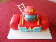 Heatwave the Rescue Bot — Birthday Cake, Max would freak out!
