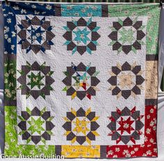 Particularly like the borders on this Swoon quilt.
