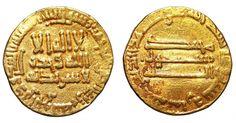 ISLAMIC, Abbasid Caliphate. Al-Mahdi. AH 159-169 / AD 775-785. AV Dinar. - Gold Coins - Coins Abbasid Caliphate, Rare Coins, Gold Coins, Ancient History, Islamic, Gold