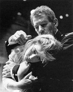 Ian McKellan as Iago and Imogen Stubbs as Desdemona in Othello (I saw this production - stunning...)
