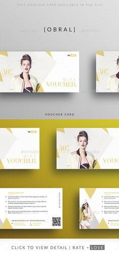 #Voucher Discount - Loyalty Cards Cards & Invites.Download here: http://graphicriver.net/item/voucher-discount/16153719?ref=arroganttype