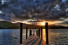 Sunset - Derwent Water, Lake District by Andi Campbell-Jones, via Flickr