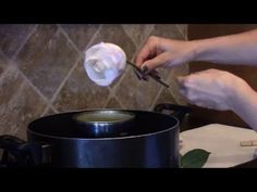 How to Preserve Fresh Flowers With Wax -