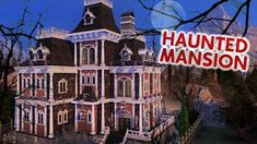 HAUNTED MANSION | Sims 4 Speed Build Sims 4 House Plans, Sims House, Sims 4 Controls, Sims Free Play, Creepy Houses, Ghost House, Sims Building, Sims 4 Build, Sims 1