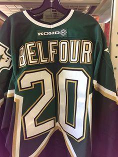 2000-01 Ed Belfour Dallas Stars Game Used Jersey MeiGray Hall of Fame Dallas e9531c42b
