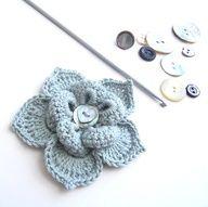 crochet flower @ Afshan Shahid