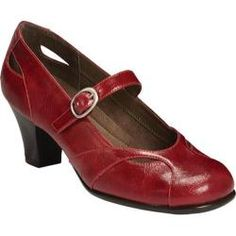Women's A2 by Aerosoles Marimba Red Distressed Synthetic