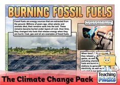 Learn about climate change, its effects and what we can do to help, with our enormous teaching pack. It includes topic guides, a video introduction, printable activity resources and display materials. Science Curriculum, Science Resources, Activities, Teaching Packs, About Climate Change, Crude Oil, Geography, Burns, Packing