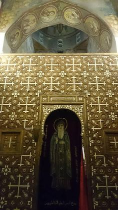 the first Christian monastery in the world... St. Antonios Coptic Orthodox monastery - Red Sea - Egypt