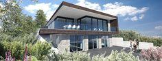 Villa med fjordudsigt -