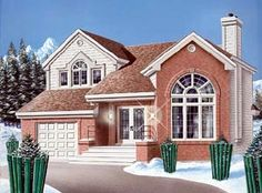 Traditional House Plan 65251 Elevation