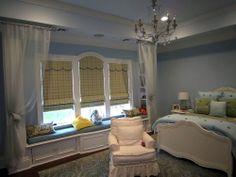 roman shade for girls room windows