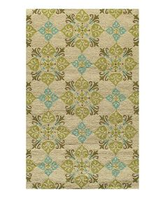 Boasting an elegant traditional design, this stylish statement is built to last as a decorative accent and can be easily hosed off to maintain its original appearance. The hand-hooked rug is UV stabilized to prevent fading and resistant to mildew to keep unpleasant odors away, making this a long-lasting investment in any home.
