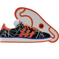 the best attitude e1969 e734b Adidas Campus II - New York Knicks (black1   orange   blue sld)