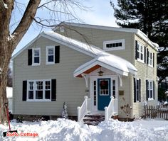 SoPo Cottage: Farewell to the Cottage - Before & After
