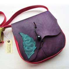 GYPSY Fairytale Bag 2622. Leather Messenger Bag by by Fairysteps, £99.00